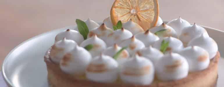 五星級蛋白霜檸檬塔