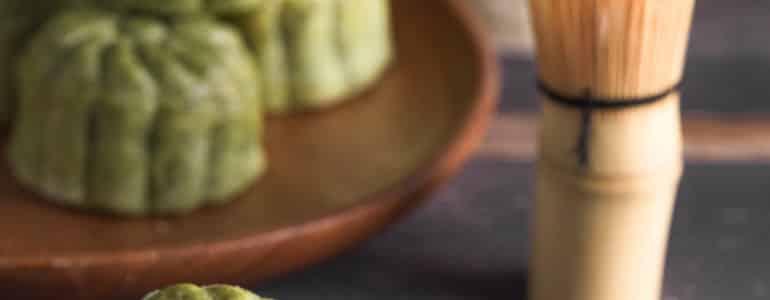 抹茶芝麻月餅