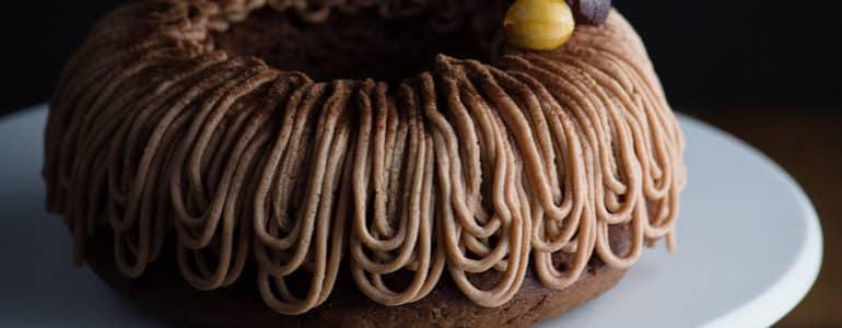 全素巧克力栗子蛋糕