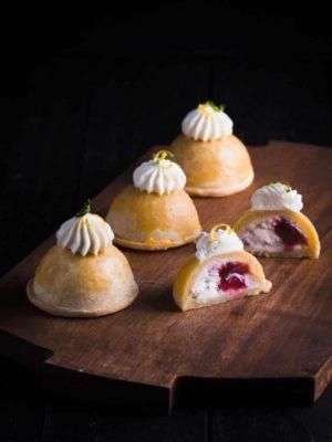 法式乳酪蔓越莓月餅