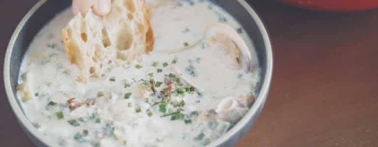 新英格蘭蛤蠣巧達湯