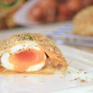 日式半熟蛋咖哩麵包