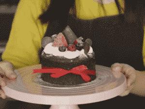 古典巧克力蛋糕裝飾