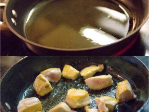 雞胸肉煎到上色