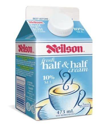 牛奶與鮮奶各半的鮮奶油