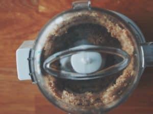 胡桃跟杏仁粉先打成細粉