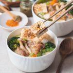 野菇味增豆乳鍋