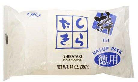 shirataki / yam noodles
