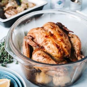 黃金脆皮烤雞