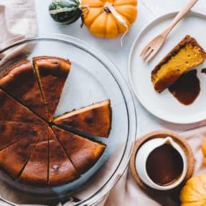 南瓜起司蛋糕