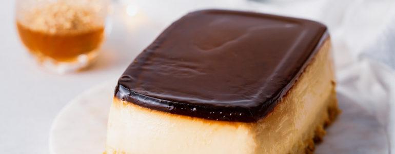 水晶焦糖布丁蛋糕