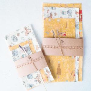 自製蜂蠟布 beeswax wrap
