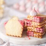 草莓夾心餅乾_strawberry sandwich cookies