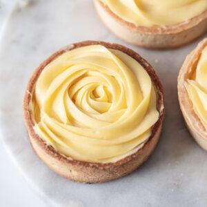 玫瑰檸檬塔